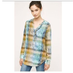 Isabella Sinclair plaid tunic size L